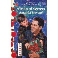 A Man Of Secrets by Amanda Stevens (Book) 1996