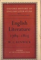 English Literature 1815 - 1832 by Ian Jack (Book) 1963