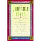 The Quotable Lover by Carol Turkington (Book) 2000