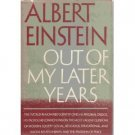 Out Of My later Years by Albert Einstein (Book) 1950