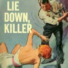 Lie Down, Killer by Richard Prather  (Book) 1958