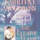 The Elusive Flame by Kathleene Woodiwiss (Book) 1998