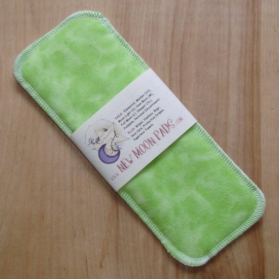 Cloth Menstrual Moon Light Pad by NEW MOON PADS - Lime Sherbet