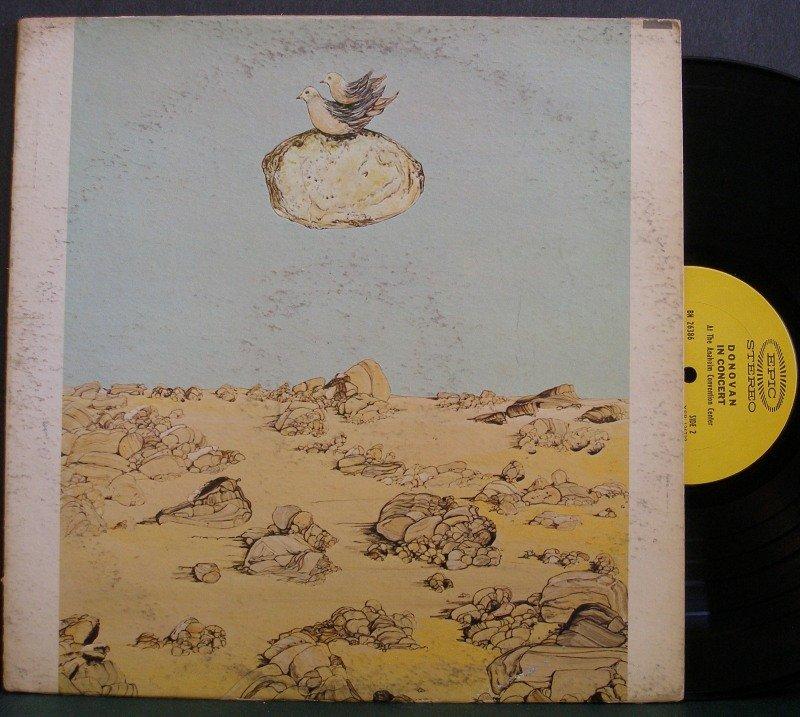 Donovan~Donovan in Concert~ EPIC 1968 LP