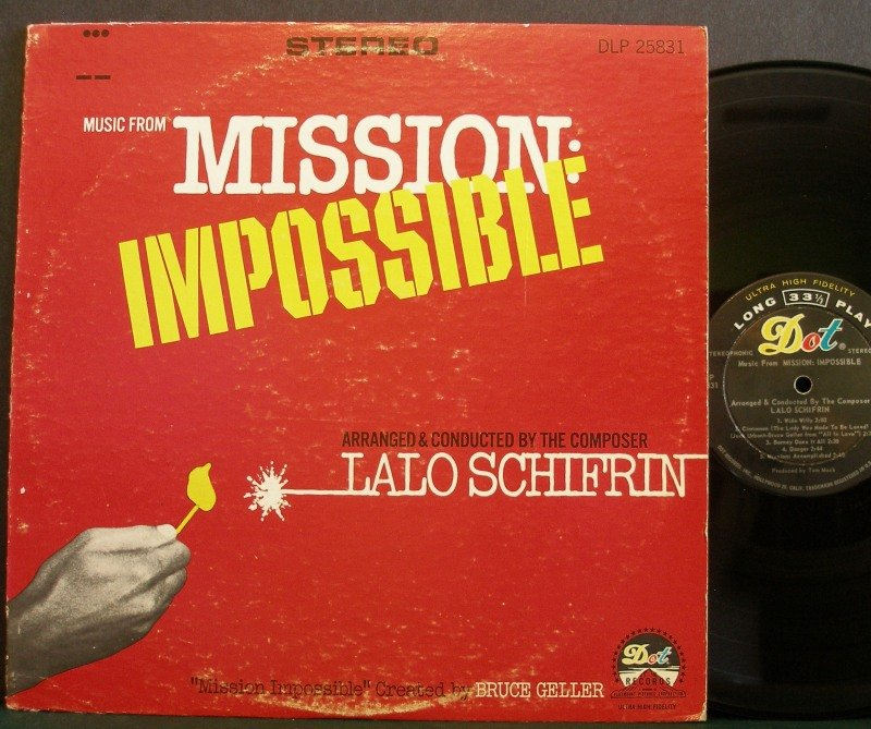 Lalo Schifrin~Music From Mission: Impossible~ Dot Records 1967 LP