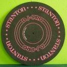 """Mega Ng~Stanton DJ-Pro Slipmat~ Stanton 1980s 12"""" Signed Vintage"""