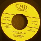 CHAS MCDEVITT~Freight Train~ Chic 45-1008 1957, 45