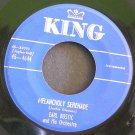 EARL BOSTIC~Melancholy Serenade / No Pearls~ King 45-4644 1953, 45