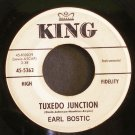 EARL BOSTIC~Tuxedo Junction / Polonaise~ King 45-5362 1960, PROMO 45