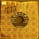 HANK PENNY~Bloodshot Eyes / Letter From Home~ Decca 9-29597 45