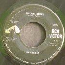 JIM REEVES~Distant Drums / Old Tige~ RCA Victor 47-8789 1966, 45
