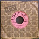 CHANDLER & WAKELY~Tonight You Belong to Me / Crazy Arms~ Decca 9-30040 PROMO 45