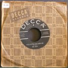 RED FOLEY~You Little So-And-So / Plantation Boogie~ Decca 29517 1955, 45 VG++