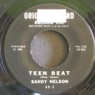 SANDY NELSON~Teen Beat~ Original Sound OR-5 1959, 45