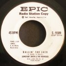 SOMETHIN' SMITH~It's a Sin to Tell a Lie / Ballin' the Jack~ EPIC 5-9389 1960, PROMO 45