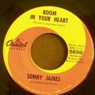 SONNY JAMES~Room in Your Heart~ Capitol 5690 45