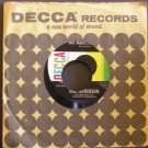 BILL ANDERSON~No Mans Land / Tip of My Fingers~ Decca 9-31092 45