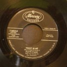 PATTI PAGE~Trust in Me~ Mercury 71400X45 1958, 45