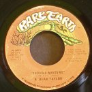 R. DEAN TAYLOR~Indiana Wants Me / Love's Your Name~ Rare Earth R 5013 1970, 45