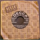 SYLVIA SYMS~I Could Have Danced All Night~ Decca 9-29903 1956, 45 1st VG+