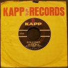 TOM GLAZER~On Top of Spaghetti / Battle Hymn of Children~ Kapp K-526X 1963, 45