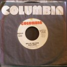 WILLIE NELSON~Blue Skies~ Columbia 3-10784 1978, PROMO 45 VG++