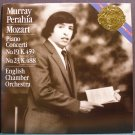 MURRAY PERAHIA~Mozart: Piano Concerti No. 19 & 23~CBS Masterworks Digital IM 39064 LP