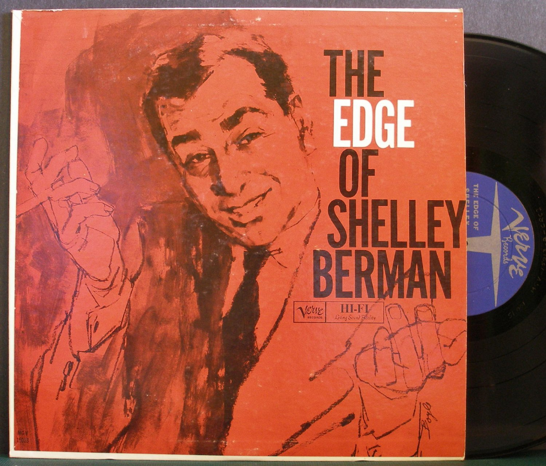 SHELLEY BERMAN~The Edge of Shelley Berman~Verve MG V-15013 LP