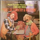 STAN & DOUG~Yust Go Country & Western~Golden Crest CRS-31022 LP