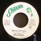 BUD LOGAN & WILMA BURGESS~Wake Me Into Love / Here Together~ Shannon S-816 1973, 45