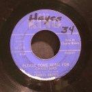 CHARLES BROWN & AMOS MILBURN~Please Come Home for Christmas~ King 45-5405 1960, 45