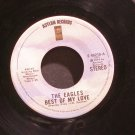 EAGLES~Best of My Love / Ol' '55~ Asylum E-45218 1975, 45