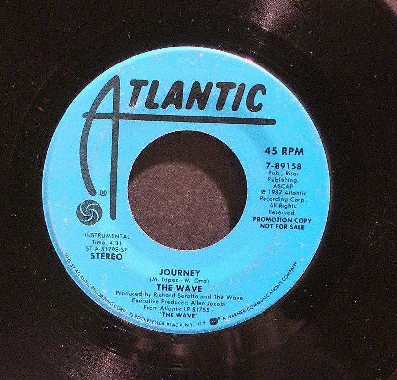 WAVE~Journey~ Atlantic 7-89158 1987, PROMO 45