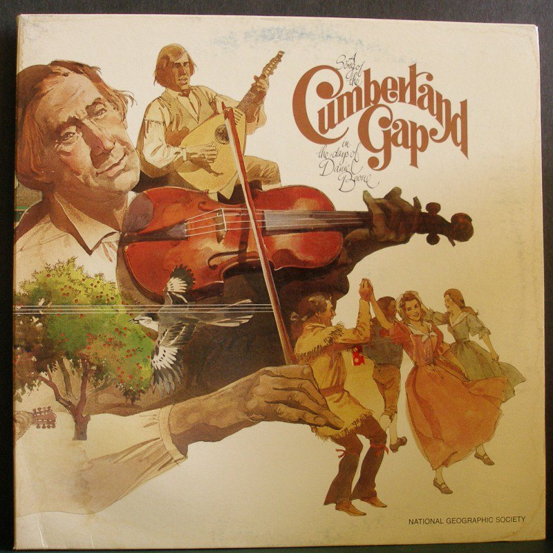 DENNIS BURNSIDE~Cumberland Gap~National Geographic Society D7809 LP