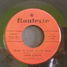 JIMMIE RODGERS~Oh-Oh, I'm  Falling in Love Again / The Long Hot Summer~ Roulette R 4045 1958, 45