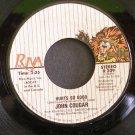 JOHN COUGAR~Hurts So Good~ Riva R 209 1982, 45