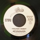 REO SPEEDWAGON~Live Every Moment~ EPIC 34-05412 1984, PROMO 45