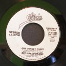 REO SPEEDWAGON~One Lonely Night~ EPIC 34-04848 1984, PROMO 45