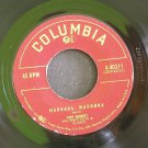TONY BENNETT~Madonna, Madonna / Not as a Stranger~ Columbia 4-40311 1954, 45