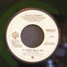 ALICE COOPER~Clones (We're All)~ Warner Bros. WBS 49204 1980, 45