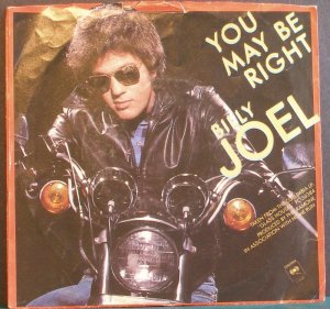 BILLY JOEL~You May Be Right~ Columbia 1-11231 1980, 45