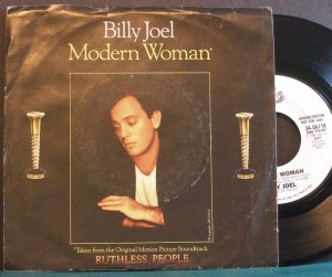 BILLY JOEL~Modern Woman~ EPIC 34-06118 1986, PROMO 45