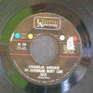 CHARLIE DRAKE~My Boomerang Won't Come Back / She's My Girl~ United Artists UA 398 1961, 45