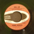 DIONNE WARWICK~Here I am / They Long to Be Close to You~ Scepter SR 12104 1965, 45