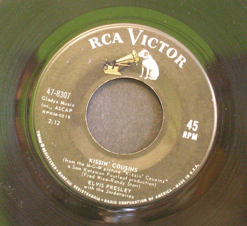 ELVIS PRESLEY~Kissin' Cousins / It Hurts Me~ RCA Victor 47-8307 1964, 45