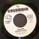 HUGGER~Summer Magic~ Columbia 38-04554 1984, PROMO 45