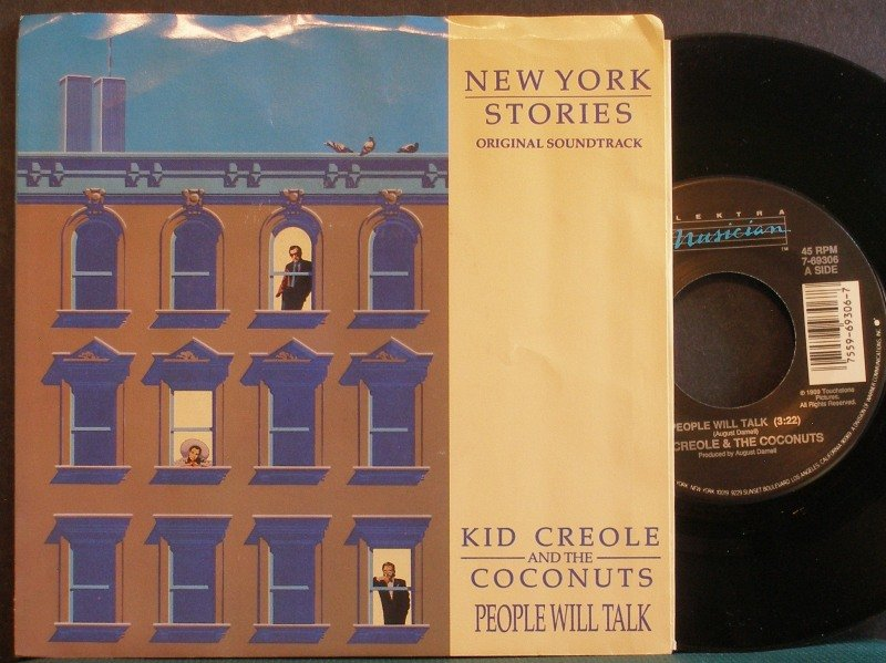 KID CREOLE~People Will Talk / Another Tribe~ Elektra Musician 7-69306 1989, 45 NM