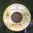 LEO SAYER~One Man Band~ Warner Bros. WBS 8097 1974, PROMO 45