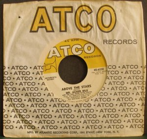 MR. ACKER BILK~Above the Stars / Soft Sands~ ATCO 45-6230 45