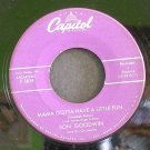 RON GOODWIN~Lingering Lovers / Mama Gotta Have a Little Fun~ Capitol F 3834 45